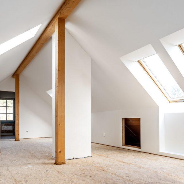 Do it yourself, Ausbau eines Dachbodens zum Wohnraum